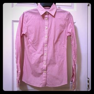 Banana Republic Non-Iron Fitted Button Up 00P
